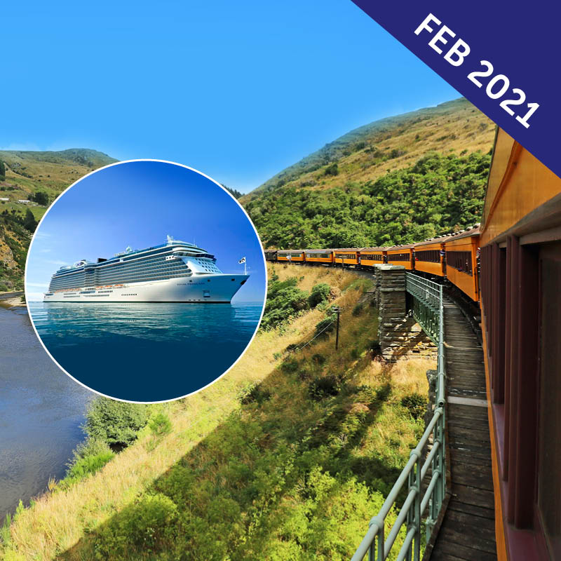 Rail Journeys of Australia & New Zealand Cruise