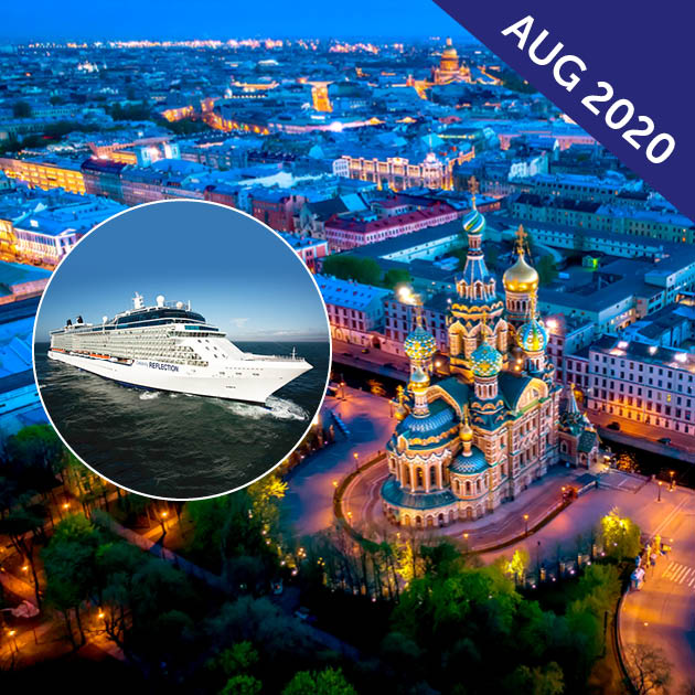 Senior Baltic & St Petersburg Cruise