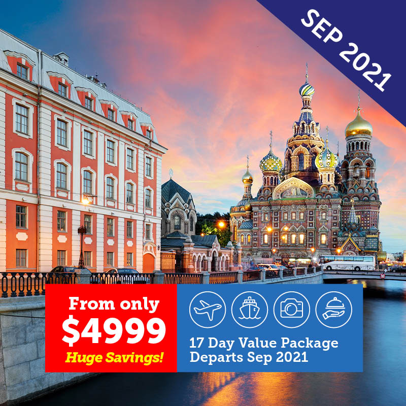 Best of Scandinavia & St Petersburg