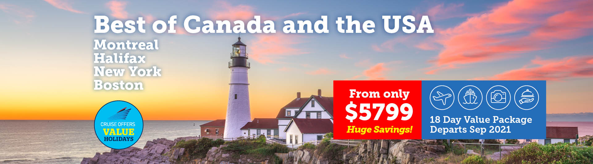 Best of Canada & The USA | Travelrite International