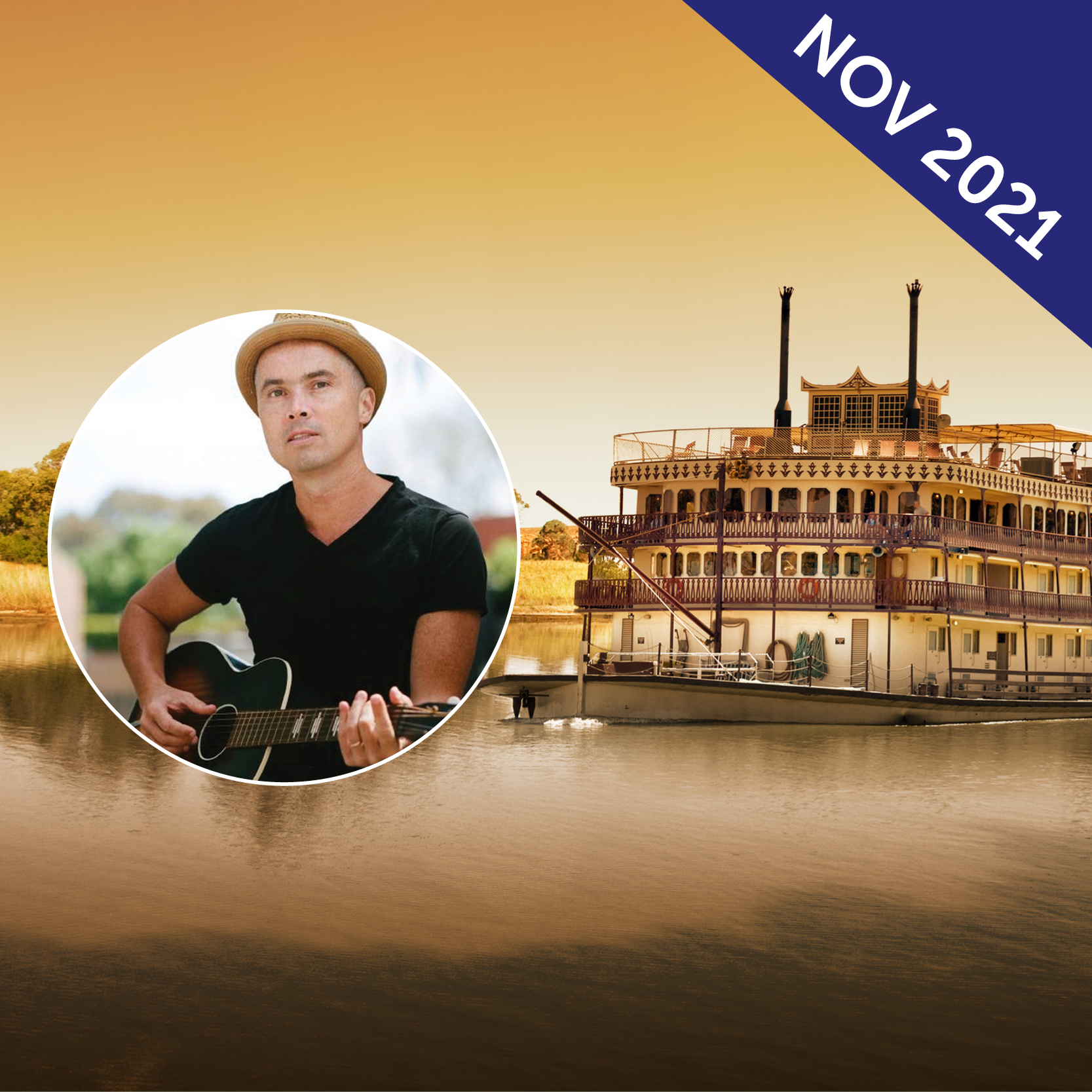 Murray River Cruise and South Australia Blues Music Tour with Jules Boult