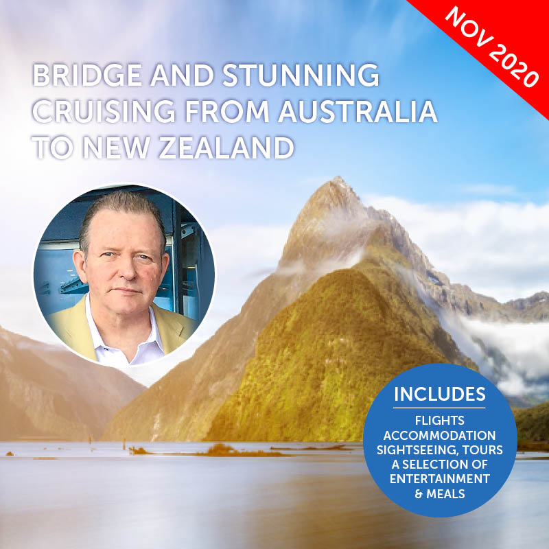 New Zealand Bridge Cruise with Gary Brown