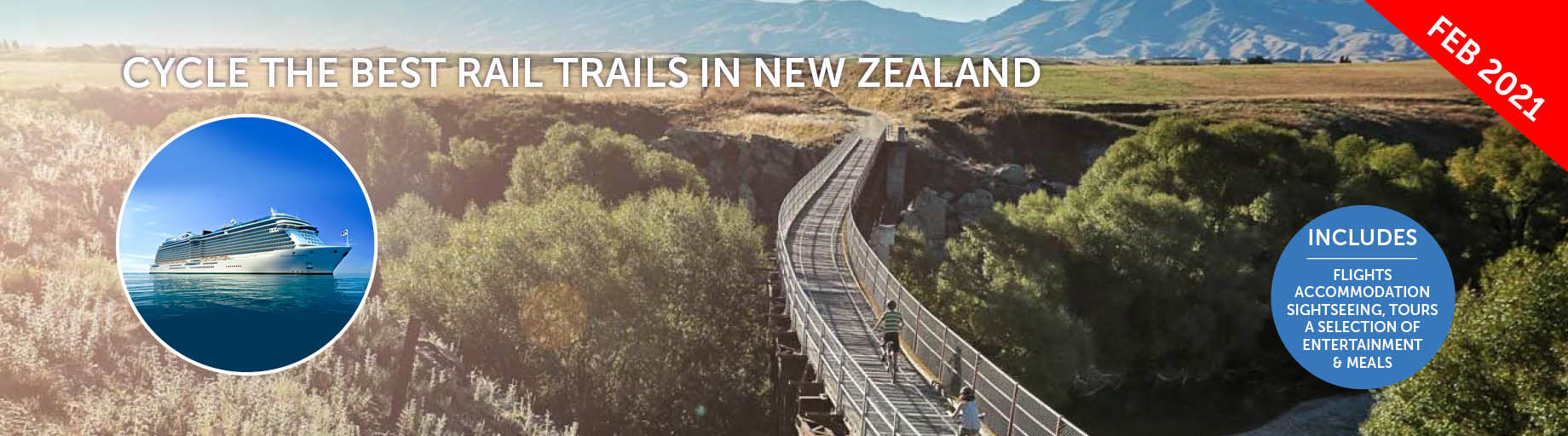 Cycle and Cruise Australia & NZ