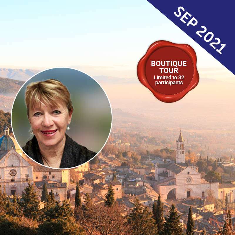 Exploration of Italy with Heather Burden