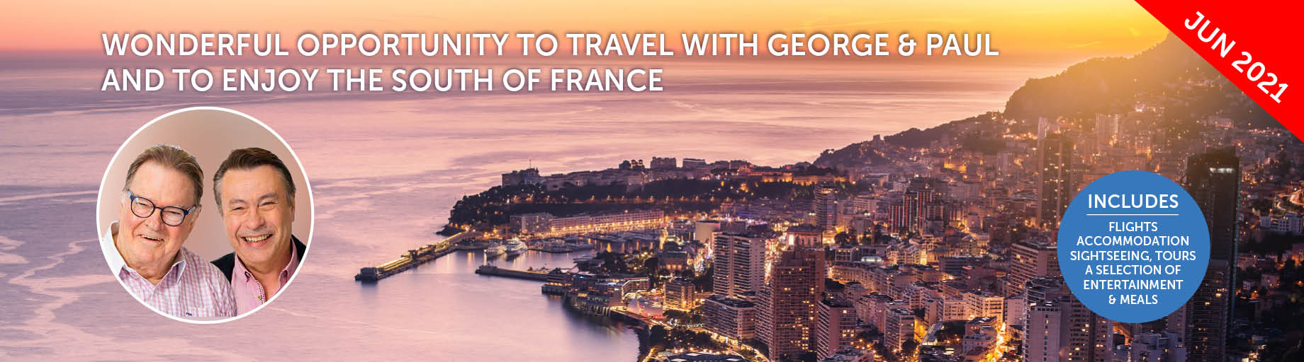 France & British Isles Cruise with George and Paul