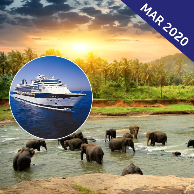 Mysteries of India, Sri Lanka and Arabia Cruise