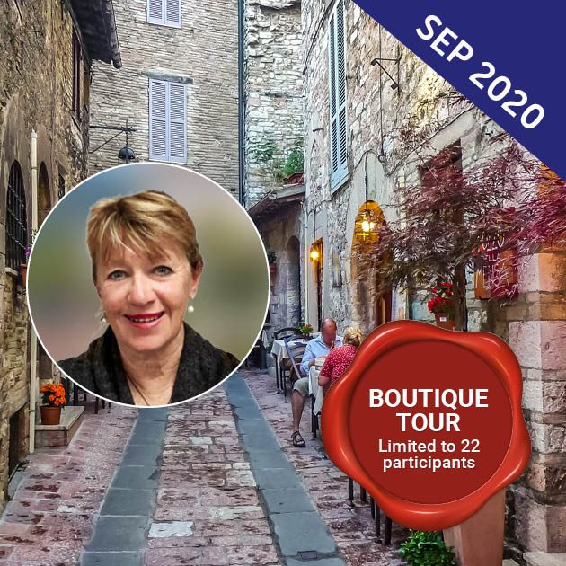 Exploration of Italy tour with Heather Burden