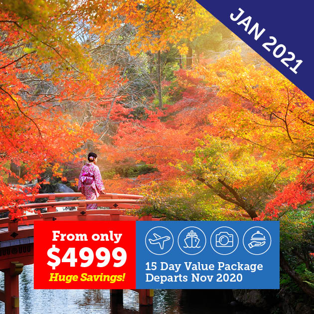 Highlights of Japan in Autumn