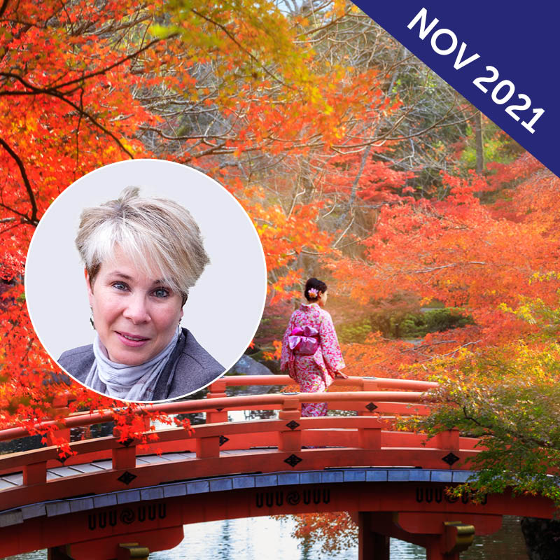 Autumn Colours Quilting Tour of Japan with Michelle Marvig