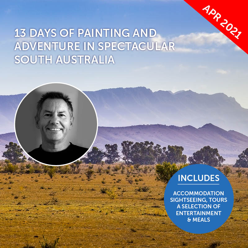 Flinders Ranges Painting Workshop with John Lovett