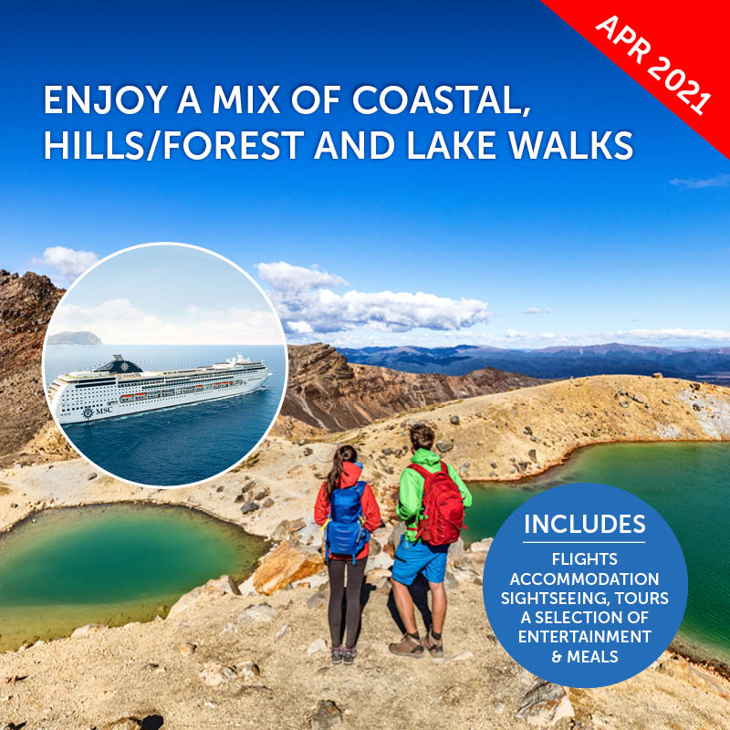 Walking & Tramping Australia & New Zealand Cruise
