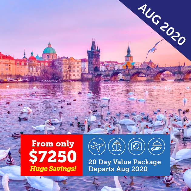 Prague, Berlin and the Baltic Cruise