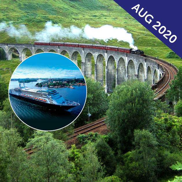 Rail Journeys of Britain Tour Cruise