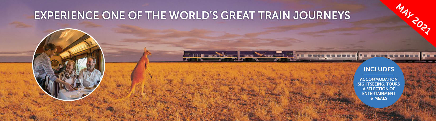 The Indian Pacific Rail Journey