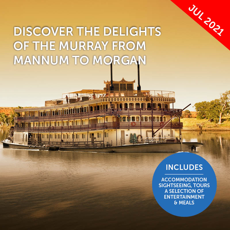 Murray River Cruise & South Australia Exploration