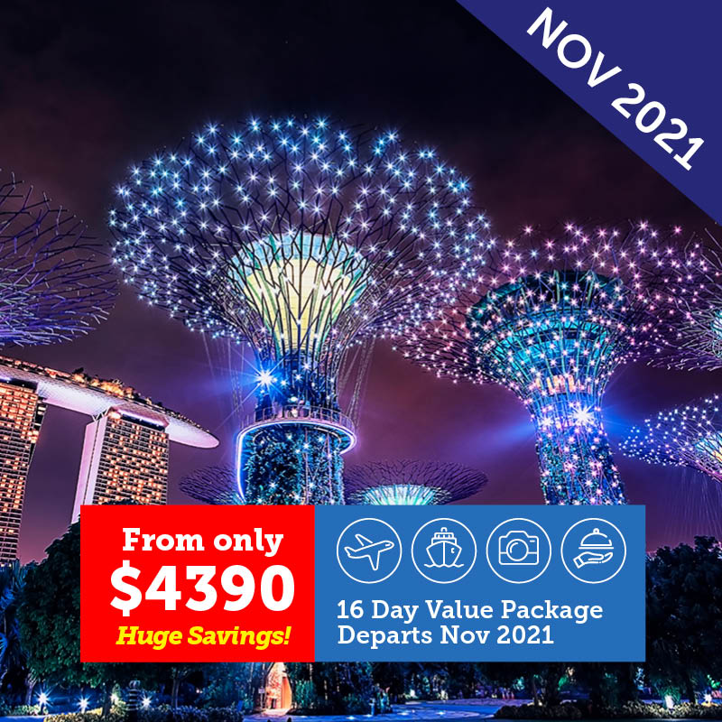 Singapore to Melbourne Cruise