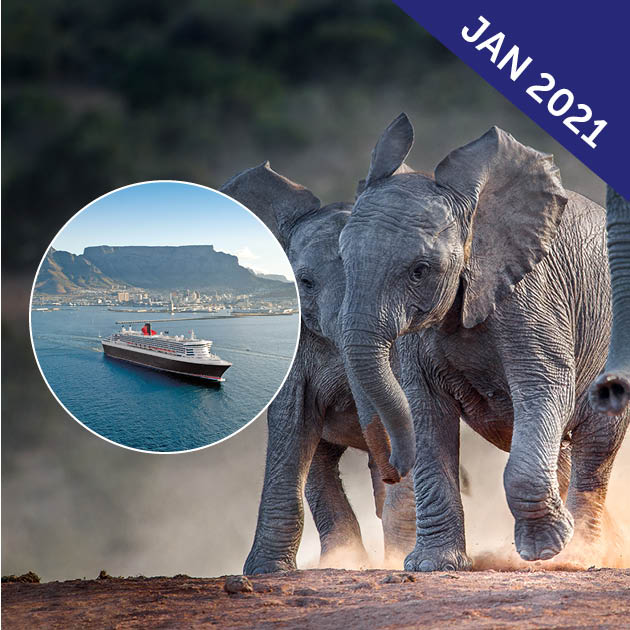 Southern Africa and Victoria Falls Adventure Cruise